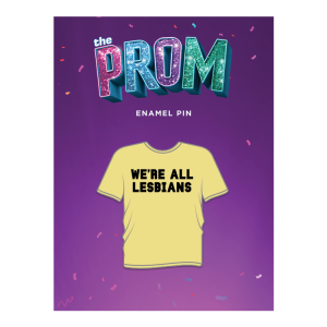 The Prom Enamel T-Shirt Pin